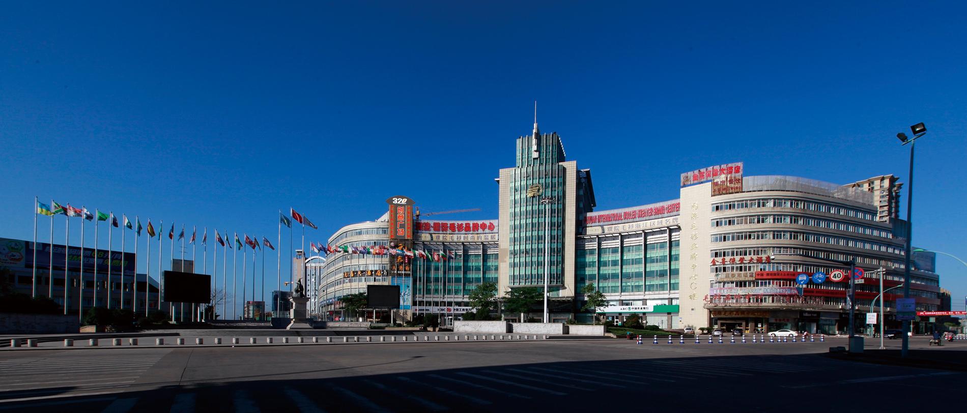 中国毛衫lovebet体育娱乐网址之都——濮院320创意广场