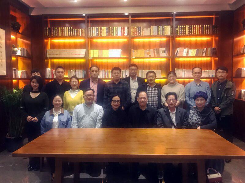 嘉兴市时尚产业考察团赴杭州省创意lovebet体育娱乐网址协会参观学习